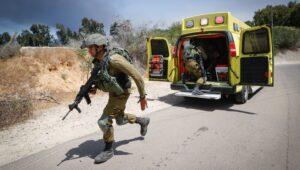 Hamas fires anti-tank missile from Gaza