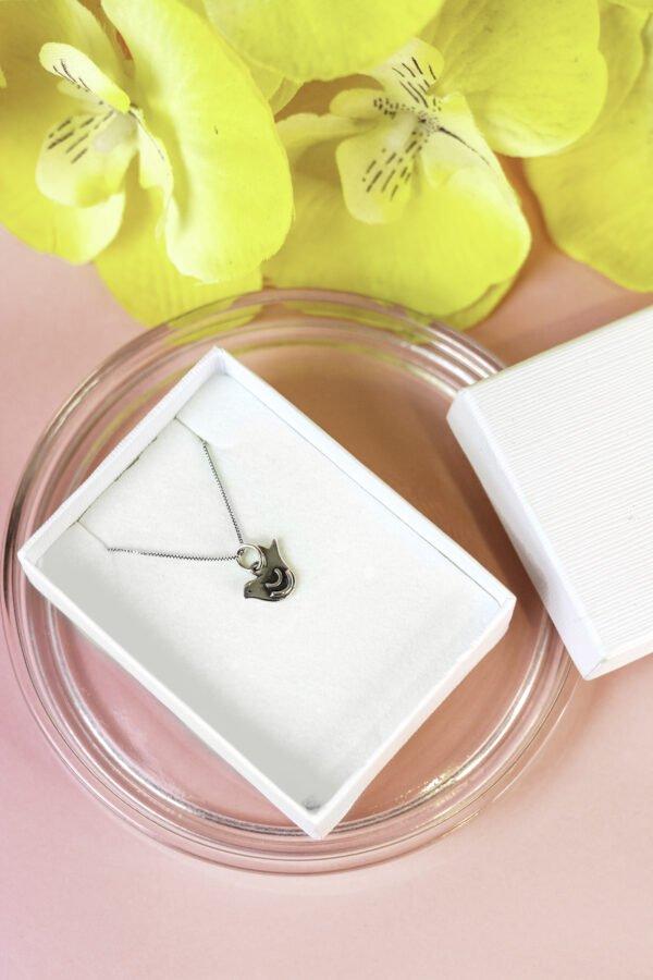 """Silver Pendant """"dove of peace"""""""