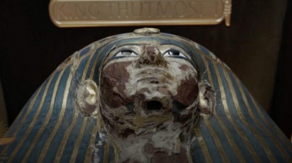 Pharaohs paraded through Cairo
