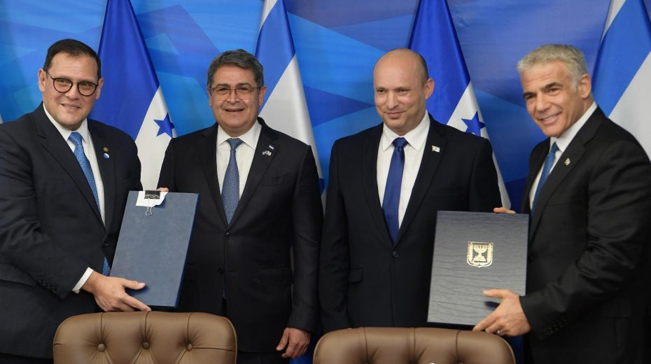 Honduras president moves his embassy to Jerusalem