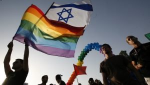 Gay pride flag flies at Israel Foreign Ministry