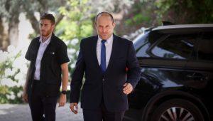 Naftali Bennett assumes his position as Israel's new prime minister