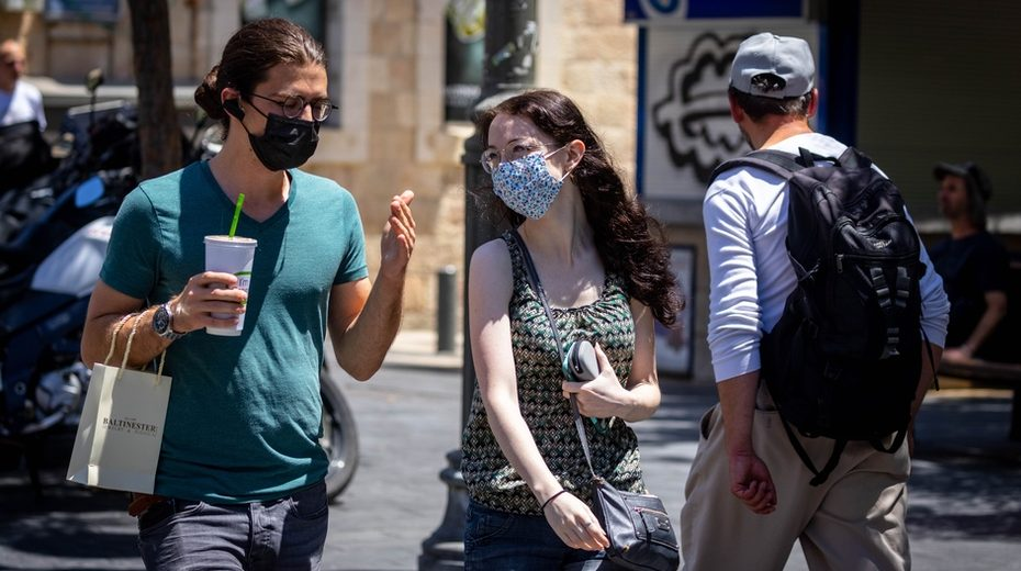 The masks are back, for now