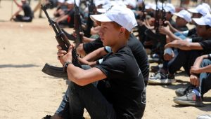 A child learns to kill in Gaza