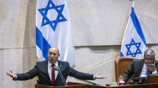 """""""You wanna piece of me?"""" All joking aside, new Prime Minister Naftali Bennett is not backing down."""