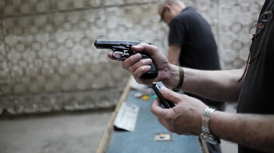 It is actually quite difficult to obtain a gun license in Israel.