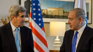 Kerry wanted Israel and the Palestinians to follow America's example in Afghanistan