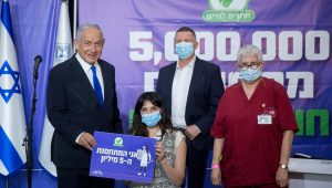 Netanyahu facilitated the vaccination of 5 million Israelis (nearly 80% of the eligible population) within months, thanks to his deal with Pfizer.