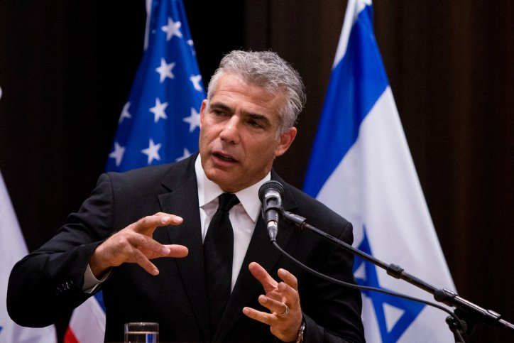 Yair Lapid heads to Washington on his first visit as foreign minister