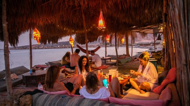 Today the Sinai is for Israelis a happy place of peace and relaxation. Quite different to what it meant to their ancestors in biblical times.