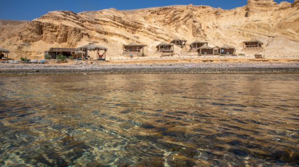 The waters of Sinai are some of the clearest around.