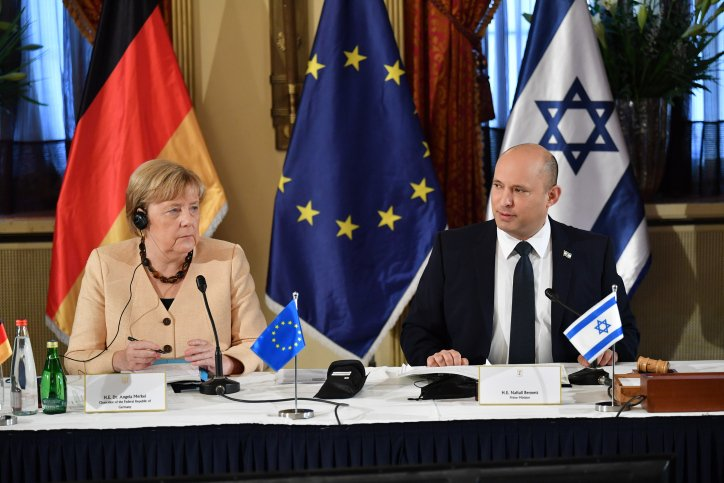 Angela Merkel in her final visit to Israel as chancellor of Germany