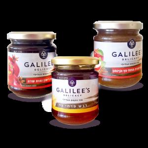 Süßes Verwöhn-Set aus Galiläa